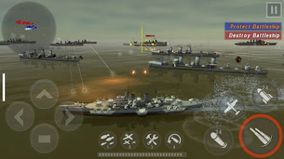 Game Android WARSHIP BATTLE:3D World War II