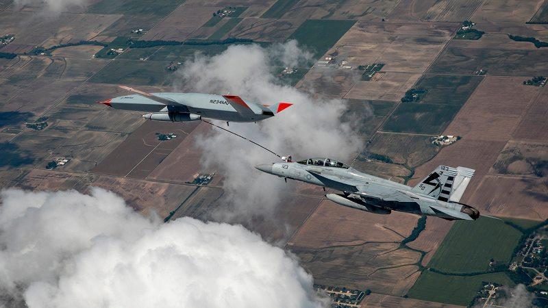 Boeing MQ-25 T1 Pesawat Tanpa Awak, Berhasil Lakukan Pengisian Bahan Bakar di Udara