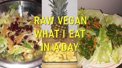 raw vegan what i eat in a day