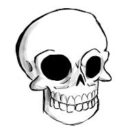 Как нарисовать скелет человека