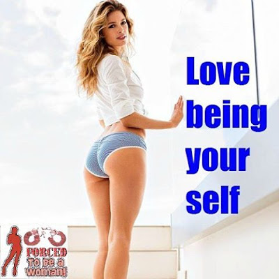 Love being yourself Sissy TG Caption - Candi's Place TG Captions - Crossdressing and Sissy Tales and Captioned images