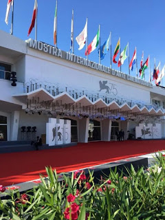 The Palazzo del Cinema on Venice Lido, which stages the festival each year
