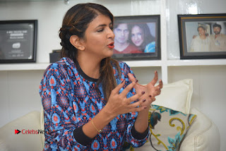 Lakshmi Manchu Pictures at Lakshmi Bomb Movie Interview