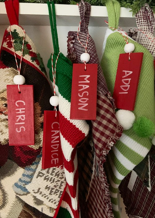 How to Make stocking name tags and beads from oven bake clay