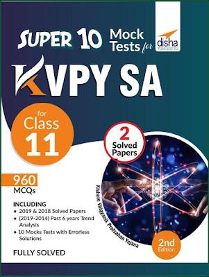 Download Disha KVPY Super 10 Mock Tests Pdf Latest Edition