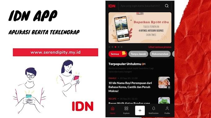 Menjadi Millennials Melek Literasi Dengan IDN App