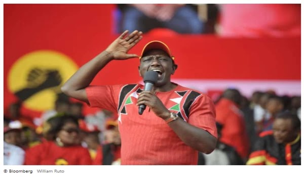 Kenya's ruling party is seeking Ruto for the post of deputy leader