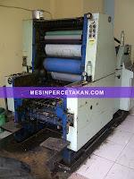mesin percetakan oliver 58e
