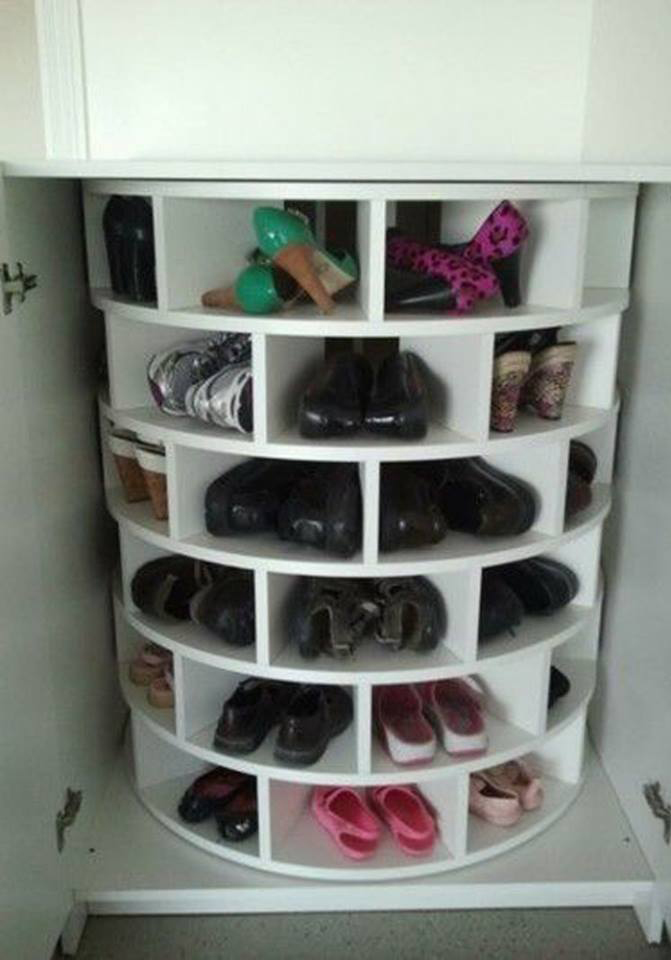 Mueble giratorio para zapatos construccion y - Mueble para zapatos ...