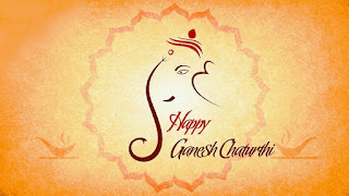 Happy Ganesh Chaturthi Saying Greetings E-Cards