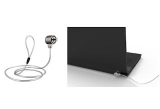 鑰匙鋼纜鎖,防盜鎖 筆記型電腦,laptop lock cable,NLC201