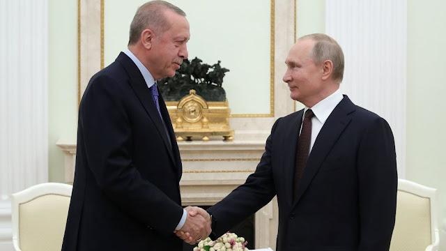 Ο Πούτιν χάιδεψε τον Ερντογάν