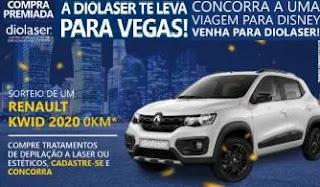 Cadastrar Promoção Diolaser 2020 Carro e Viagens Las Vegas e Disney - Depilação
