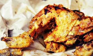 Cara Membuat Ayam Bakar Bumbu Kuning Lezat