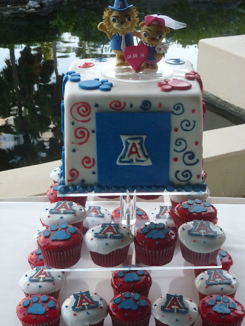 University of Arizona Groom's Cake