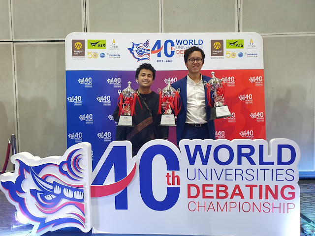 Tim ITB Ukir Prestasi di World University Debating Championship 2020