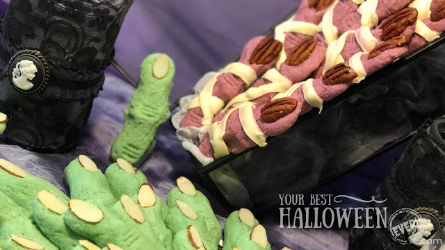 witch finger cookie recipe, mummy finger cookie recipe, best easy Halloween cookies