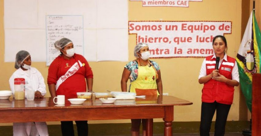 QALI WARMA: Programa social capacita a más de mil madres de familia de Pasco en preparación de platos con alimentos ricos en hierro - www.qaliwarma.gob.pe
