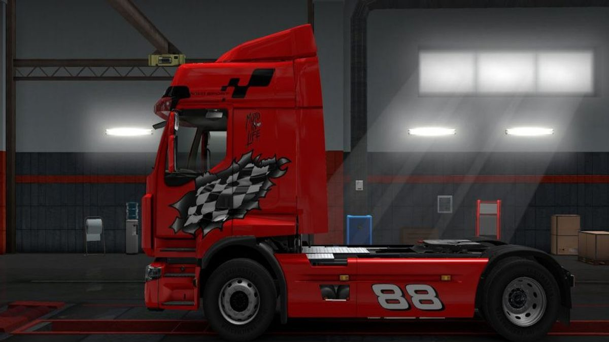 Racing Skin for Renault Premium