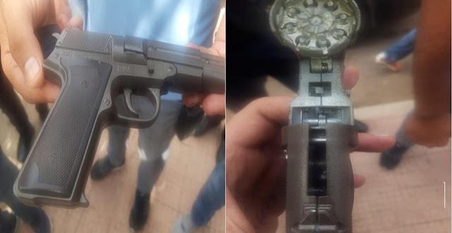 """أكادير .. توقيف شاب هدد مستخدمتين في صيدلية بسلاح ناري للحصول على اقراص """"مخدرة"""""""