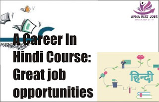 A Career In Hindi Course: Great job opportunities in Hindi language