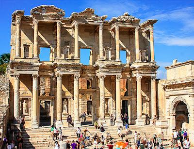 Rasakan Nuansa Romawi Kuno di Selcuk, Turki