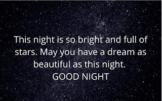 good night images with quotes in english