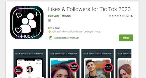 aplikasi penambah pengikut tiktok anda secara otomatis