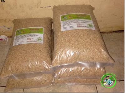 ABDUL HAFIS, Palembang, Sumsel  Pembeli Benih Padi TRISAKTI 75 HST Panen.  10 Kg atau 2 Bungkus