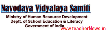 Novodaya Admission Test Syllabus and Exam Pattern, Selection Process 2019