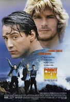 The above picture is the movie poster of Point Break