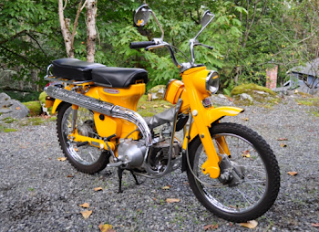 Honda CT90 Specifications, Review, Top Speed, Picture, Engine, Parts & History