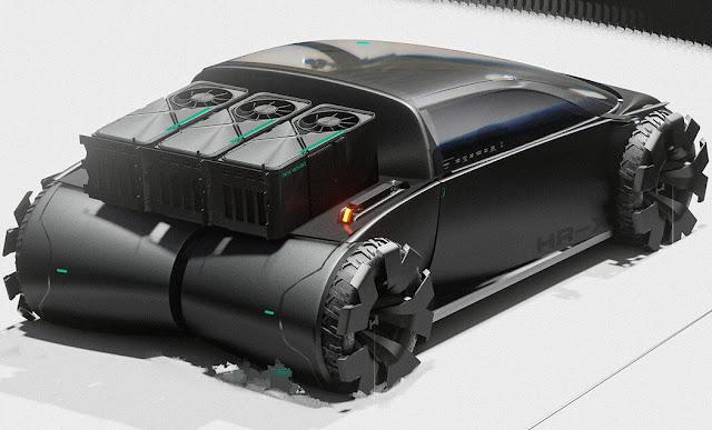 the Honda HR-X Delsol