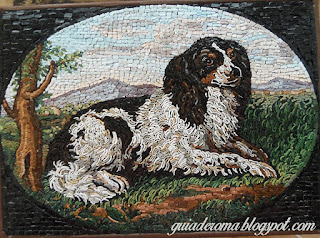 gilbert spaniel light - A arte do micromosaico