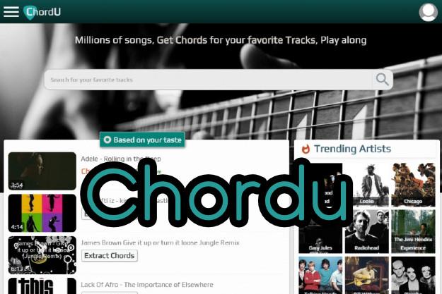 Chordu - Βρες συγχορδίες από άπειρα γνωστά τραγούδια