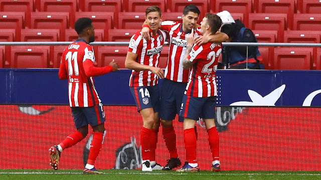 ملخص مباراة اتلتيكو مدريد وإلتشي (3-1) اليوم السبت في الدوري الاسباني