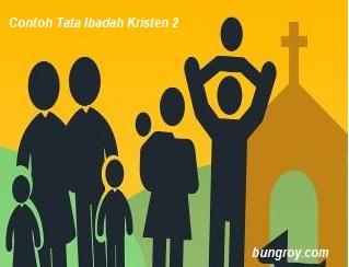 Contoh Tata Ibadah Kristen 2