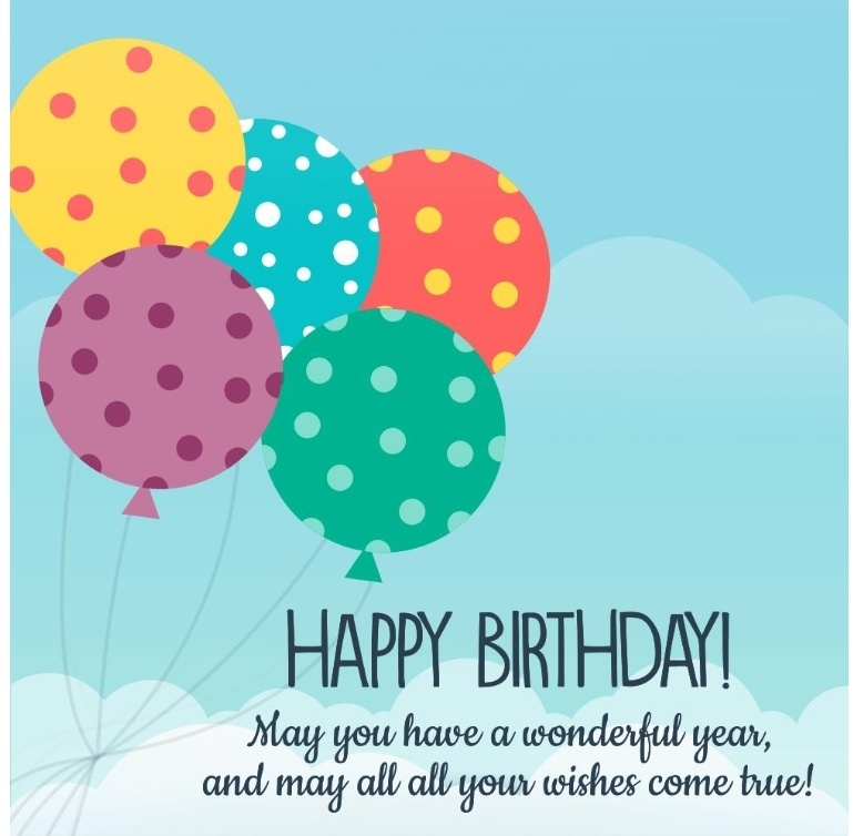 Ucapan Selamat Ulang Tahun Dalam Bahasa Inggris Happy