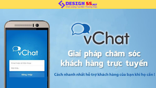 Tiện ích live chat, chat box cho website (vchat.vn)