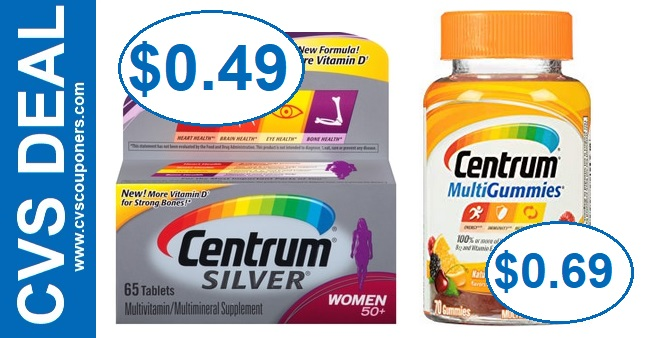 cheap centrum vitamins cvs coupon deals  15 21