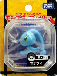 Manaphy figure Takara Tomy Monster Collection M series