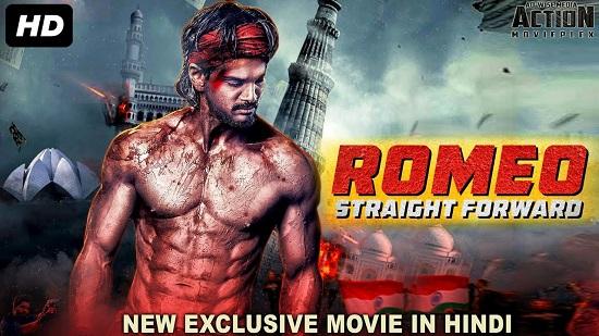 Romeo Straight Forward 2018 Hindi Dubbed 850MB HDRip 720p
