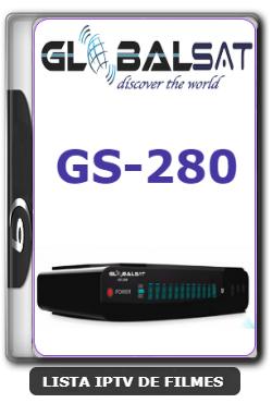 Globalsat GS280 Nova Atualização Melhoria no sistema e Correção do YouTube V1.34 - 20-01-2020