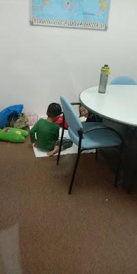 Ikut Mama Pergi Kerja  dilema mak-mak bekerja cuti sekolah nursery tutup anak-anak  keluarga kisah keluarga kami ragam budak dua ketui afiq furqan  cik qilah