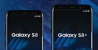 iPhone against Galaxy S8