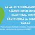 Ilmastokysely osoittaa: Suomalaiset kokevat oman elämänsä jo nyt ympäristön kannalta kestäväksi