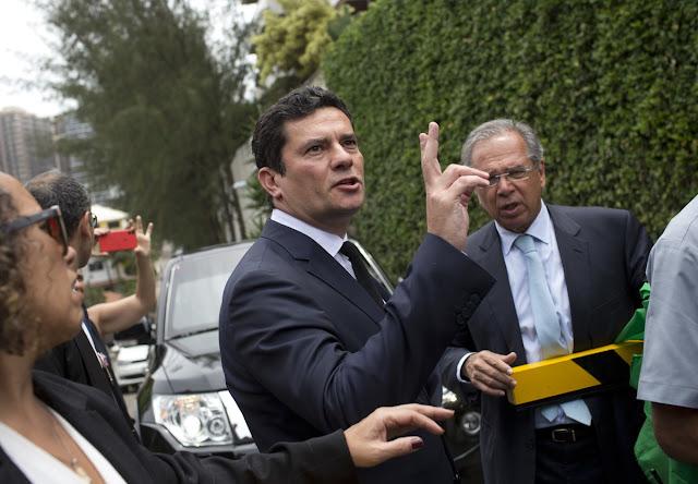 Juiz federal Sérgio Moro aceitou superministério da Justiça de Bolsonaro