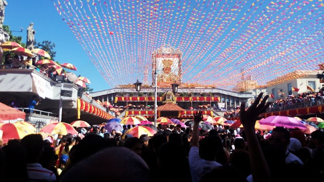 Basilica del Sto Nino Novena Mass during Sinulog 2016