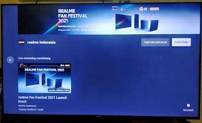 Realme Smart TV 4K 50 Inci
