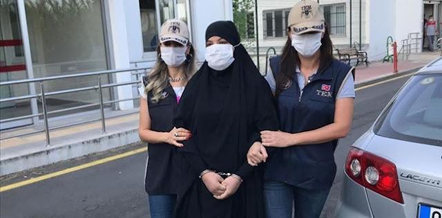 Soumaya Raissi, Buronan Perempuan ISIS Paling Berbahaya Ditangkap Pihak Keamanan Turki